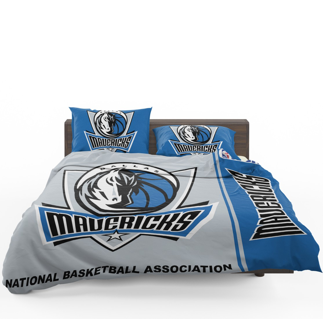 Dallas Mavericks Nba Basketball Bedding Set