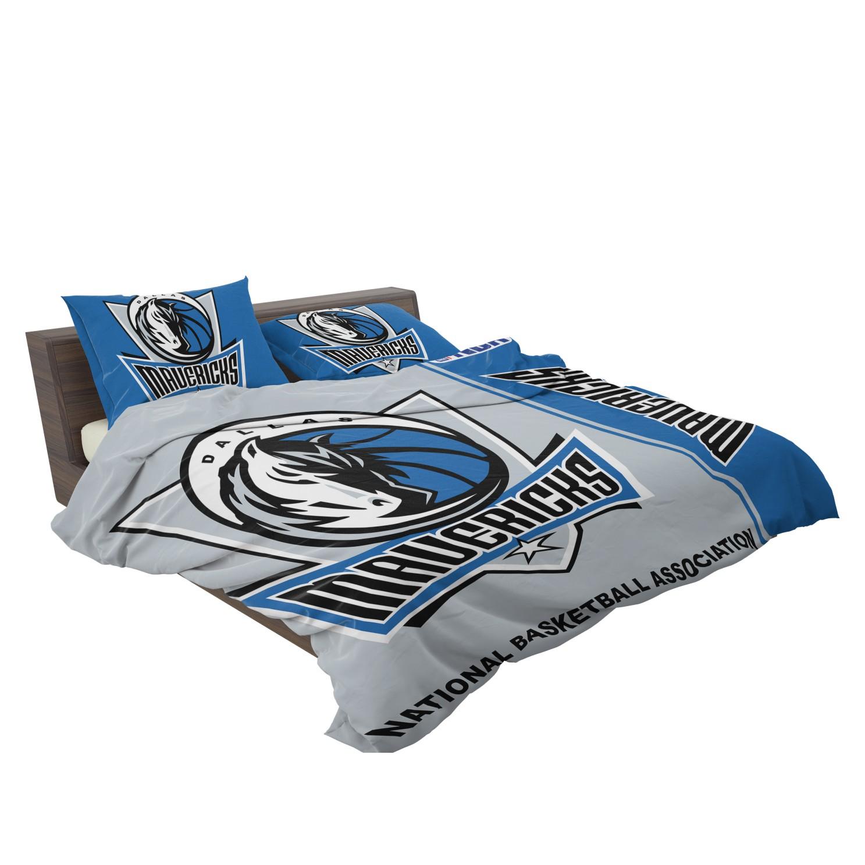 Dallas Mavericks Nba Basketball Bedding Set