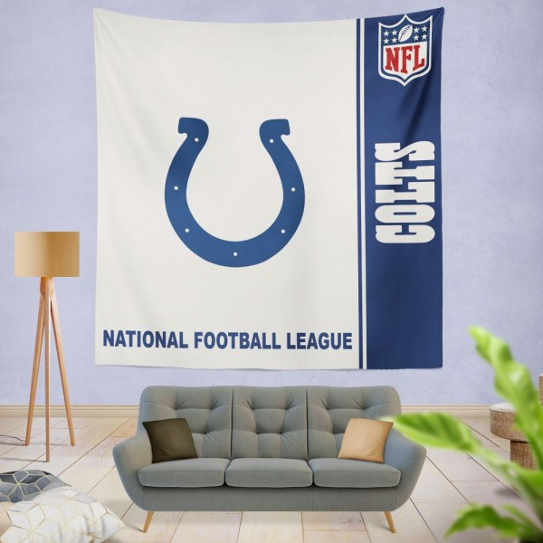 Nfl Indianapolis Colts Wall Hanging Tapestry Ebeddingsets