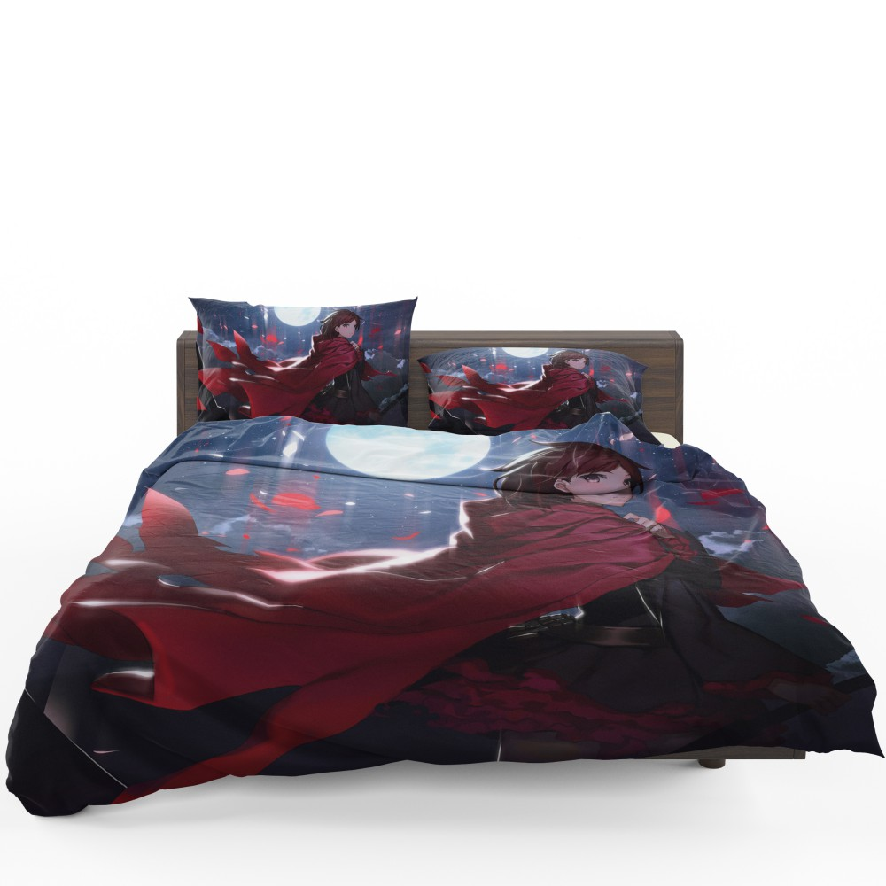 Ruby Rose Rwby Custom Anime Bedding Set Ebeddingsets