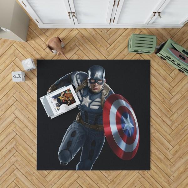 Captain America Superheroes Marvel Comics Bedroom Living