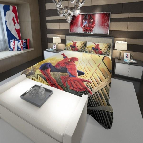 Spider Man Marvel Comics Avengers Comforter Ebeddingsets