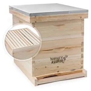 Honey Keeper 20-Frame Beekeeping Starter Kit (Langstroth BeeHive)