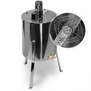 Honey Keeper Pro4-Frame Stainless SteelElectric Honey Extractor