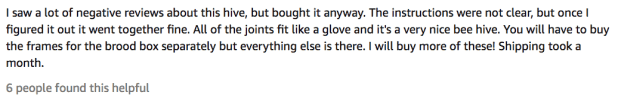 Lang Wooden Honey Auto Flow Beehive Review Testimonial