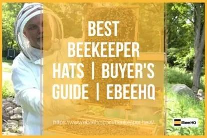 Top 6 Best Beekeeper Hats for Sale - Beekeeping