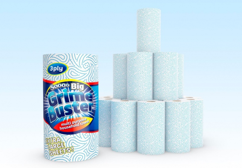 kitchen towel cabinet estimator 12 rolls of three ply soooo grime buster ebeez co uk