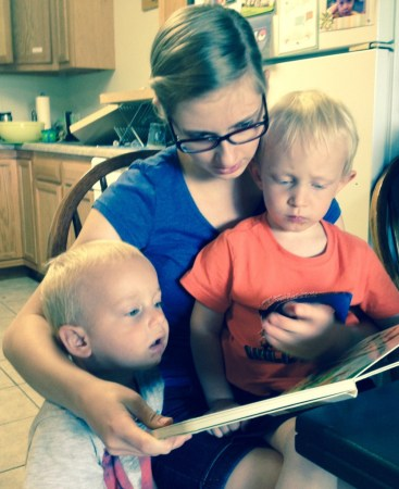 Story time with Auntie Salome!