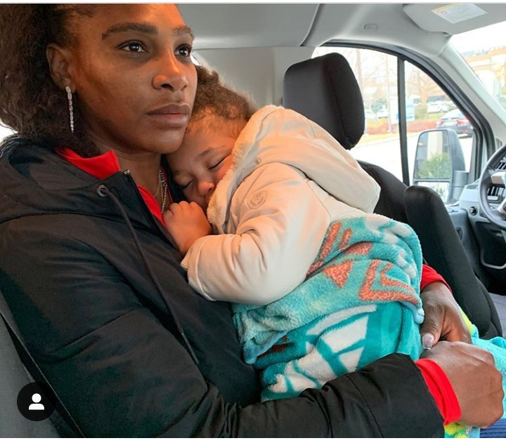 """Working and being a mother is not easy. I am often tired"" – Serena Williams"