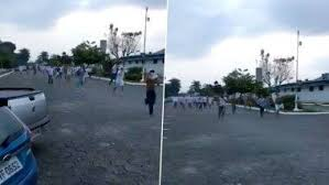 Hundreds of Prisoners escape Brazilian jail in a riot over coronavirus suppression government canceled temporary exit (video)