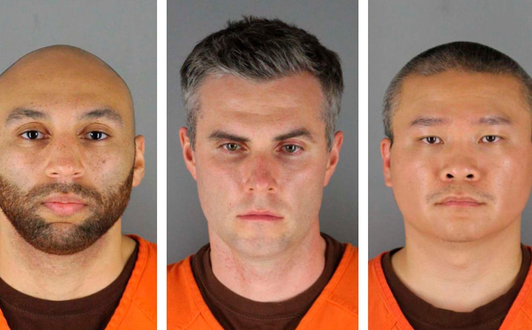 Judge sets bail at $750,000 each for the three other Minneapolis former police officers accused of helping and aiding in the death of George Floyd
