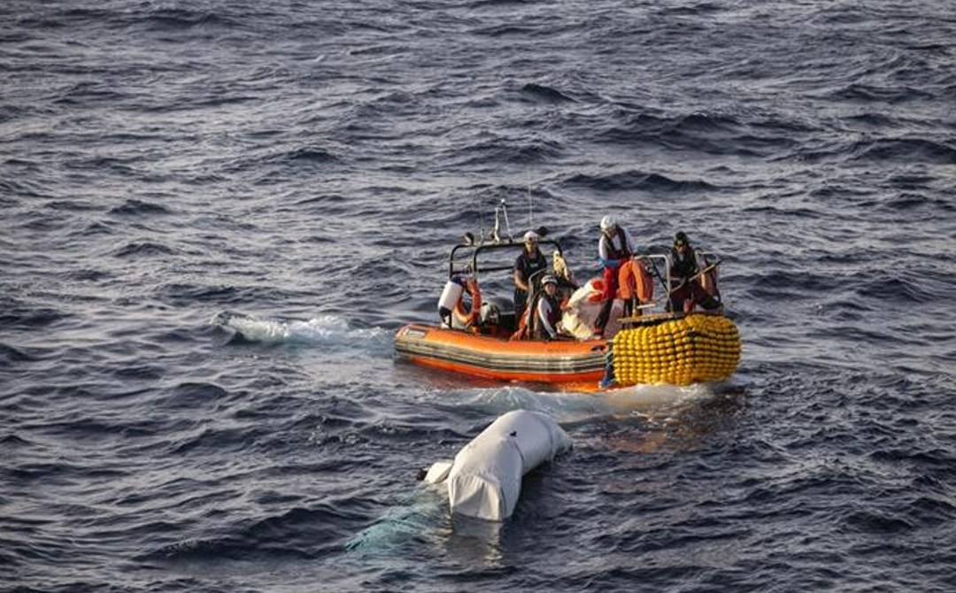 Black lives matter, 'even the ones drowning in the Mediterranean Sea'