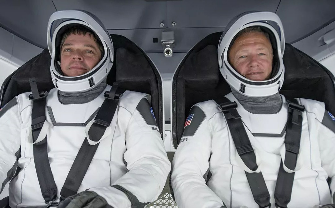 Two US astronauts return home on SpaceX Aug 2