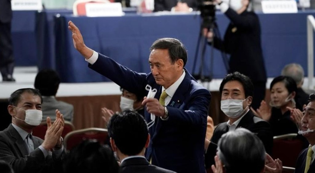 Yoshihide Suga to replace Shinzo Abe as the country's next prime minister on Wednesday