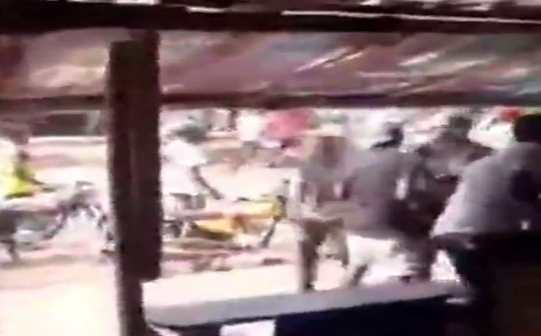 Soldier Allegedly Open Fire On #EndSARS Protesters In Auchi (Video)
