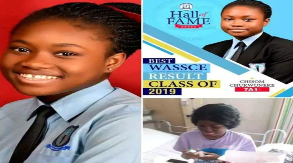 A teenager who got 7A1s in the 2019 West African Senior School Certificate Examination WASSCE from Graceland college in Enugu has died 1