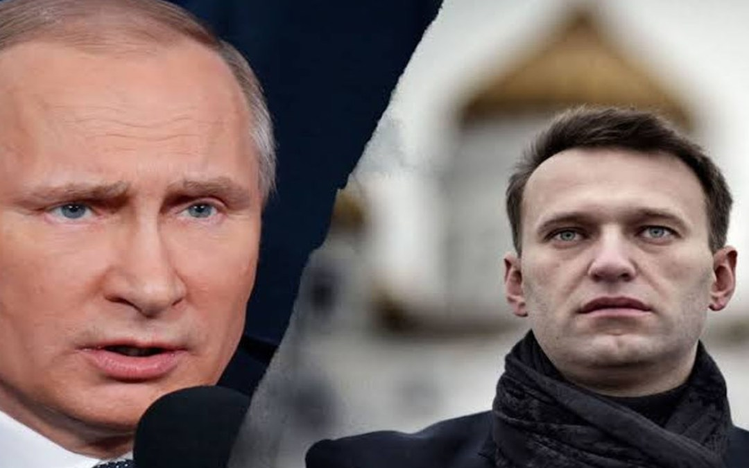 Alexey Navalny Russian opposition leader immediately arrested on return to Moscow 5 months after being allegedly poisoned by the government