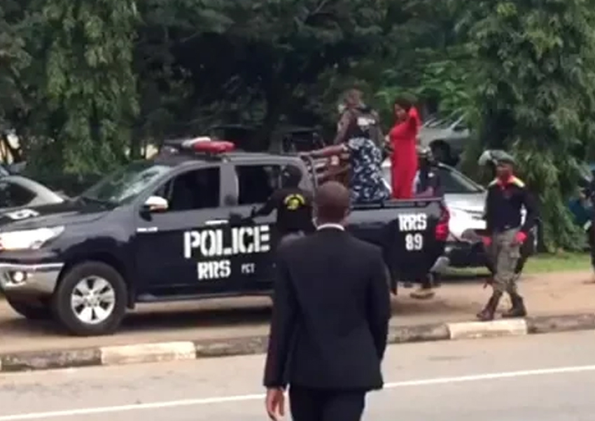 Nnamdi Kanu Trial, IPOB members arrested as police clash with secessionist group members at Abuja high court