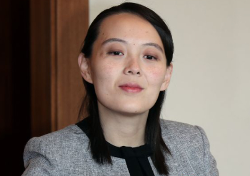 Kim Jong-Un's sister, Kim Yo-jong, has warned the US and South Korea over their planned military exercises later this month