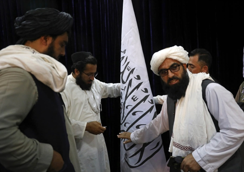 Zabihullah Mujahid Taliban spokesman says the group won't allow the territory to be used against anybody or any country