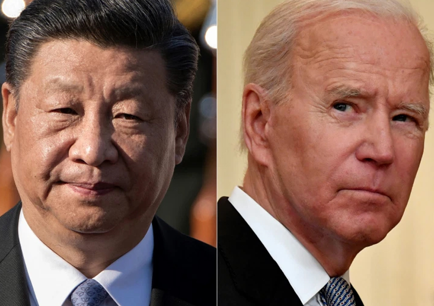 Biden and Xi the leaders of the world's two biggest economies speak on phone for the first time in 7 months