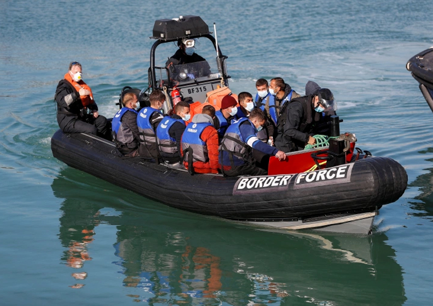The UK threatens to send migrant boats back to France as surging numbers of migrants attempt to cross channel rises
