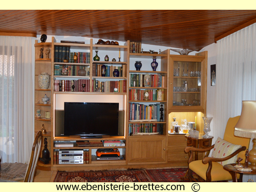 meuble television louis philippe
