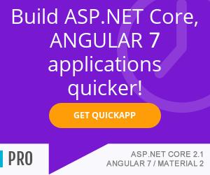 Build ASP.NET Core 2.1, Angular7 applications quicker - www.ebenmonney.com