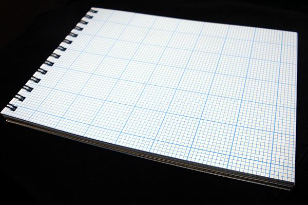 graph paper pad large