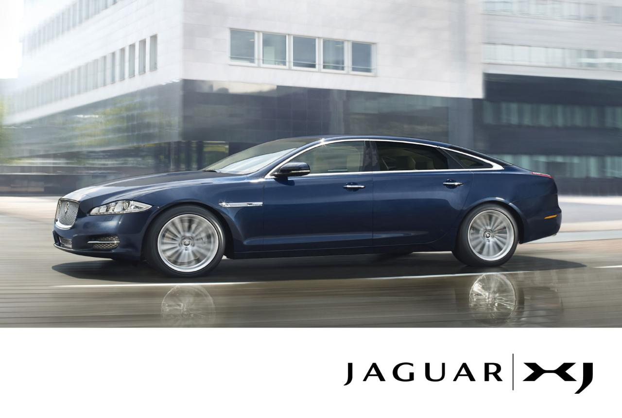 Jaguar XJ Saloon Review 2011 Pictures Prices and Specifications
