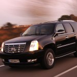 Cadillac Escalade front headlights