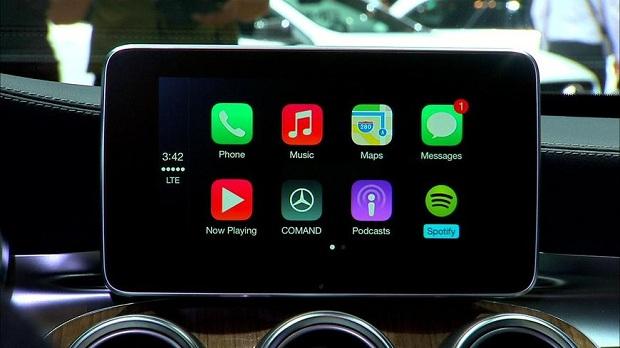 Apple CarPlay technology