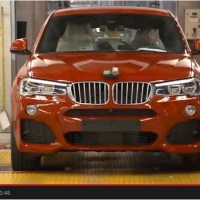 Watch How BMW X4 is assembled in Huge BMW Factory in South Carolina