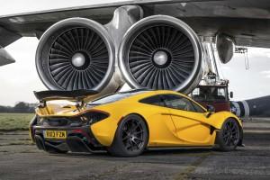 McLaren P1 Back View