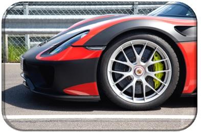 Porsche 918 Spyder Wheel View