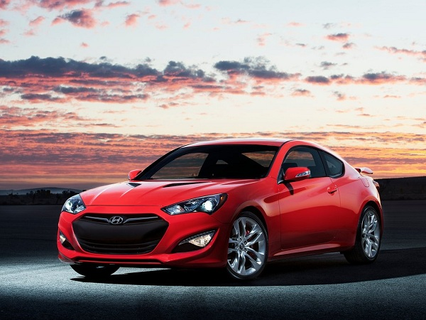 Hyudai Genesis Coupe 2013 version 2015 UK