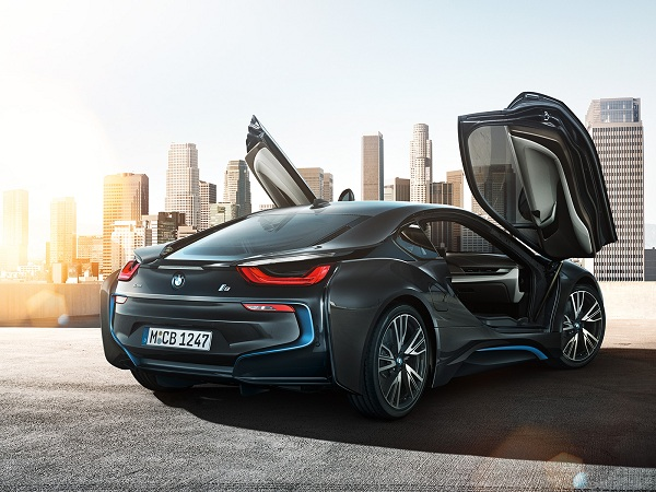 bmw i8 back lights