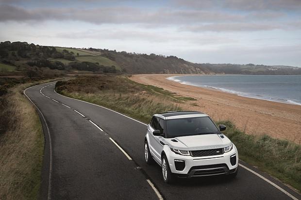 Range Rover Evoque drive