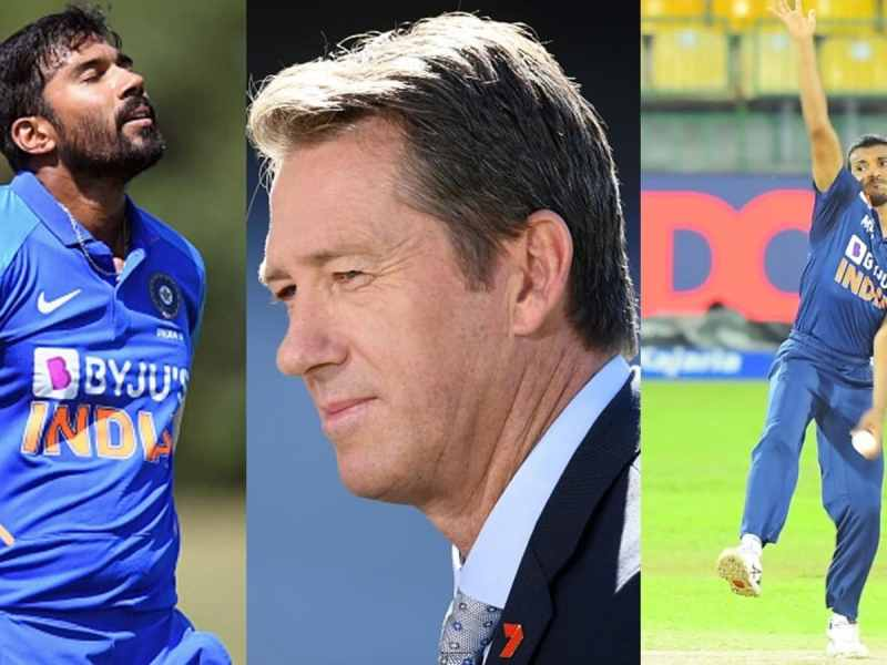 ऑस्ट्रेलियाई दिग्गज ग्लेन मैक्ग्रा ने चेतन सकारिया, संदीप वारियर के भारत में डेब्यू करने पर प्रतिक्रिया दी    क्रिकेट