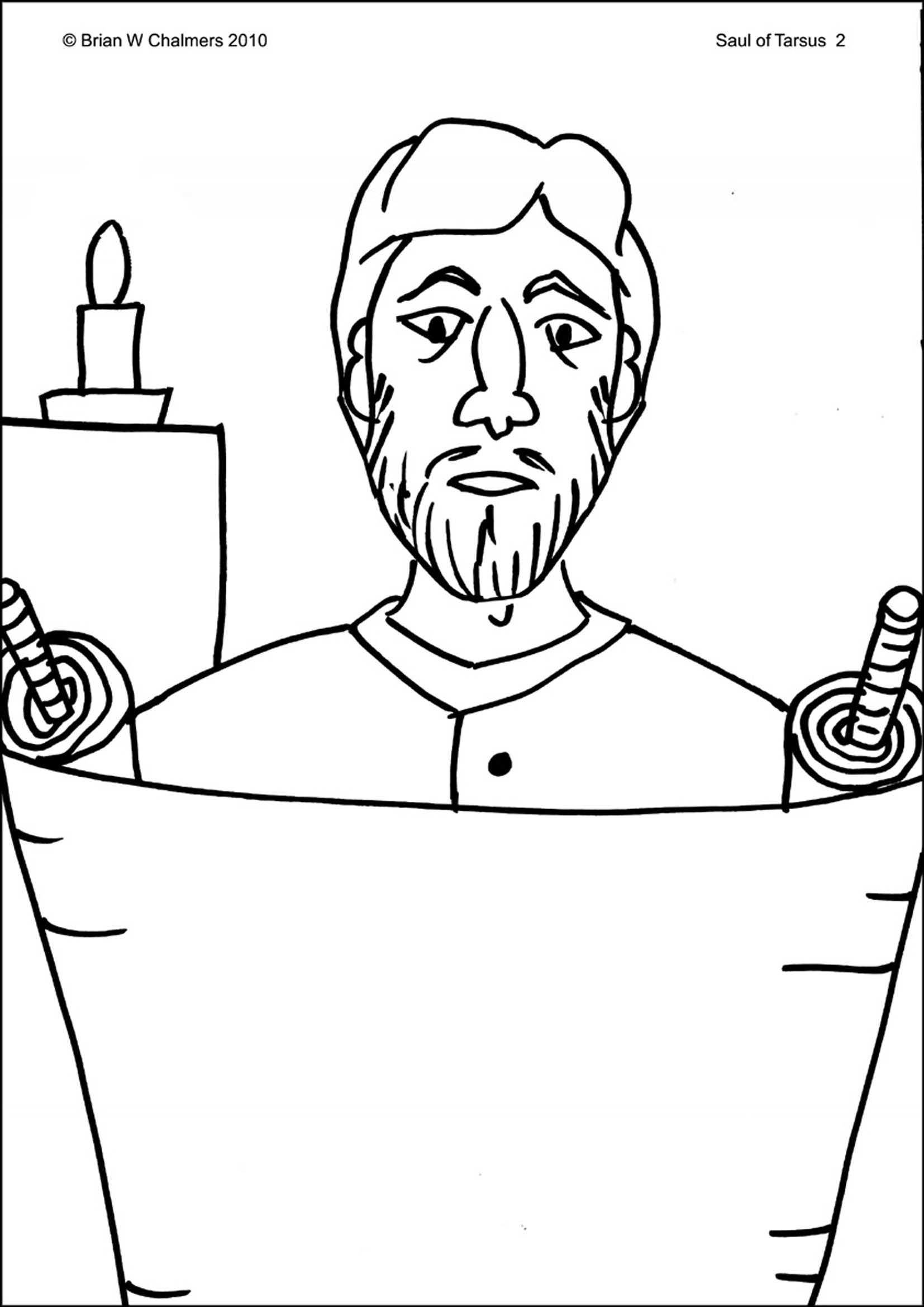 Jeremiah Scroll Coloring Page Coloring Pages
