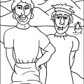 Two builders flip chart ebibleteacher