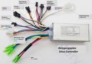 Elektrofahrrad 36V Sinus Controller
