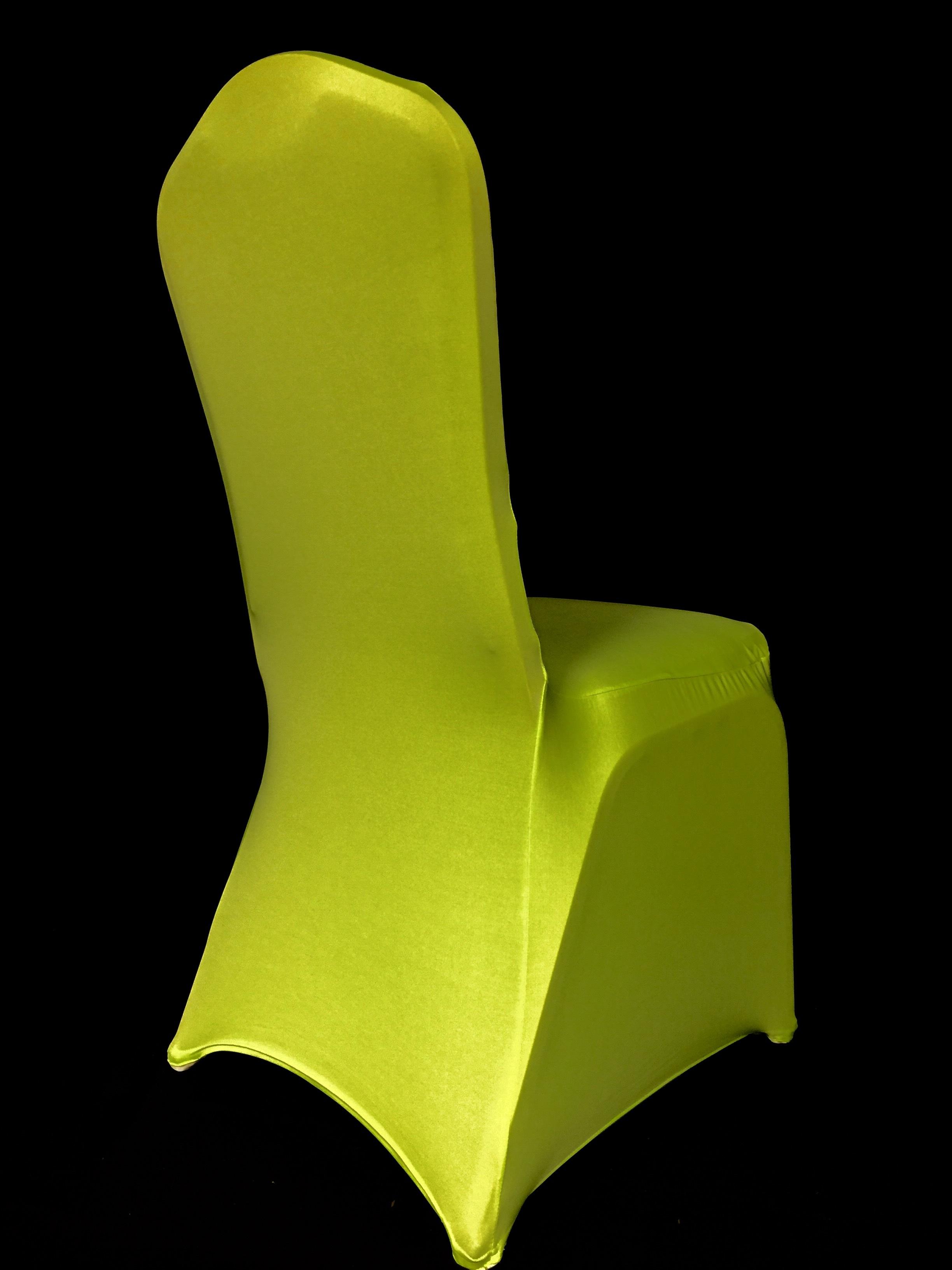green spandex chair covers brown club eb inc events kiwi