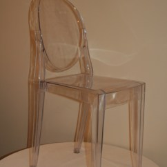 Armless Ghost Chair Compact Folding Eb Inc Events Crystal