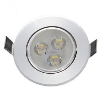 3/5/7W COB LED Recessed Ceiling Lamp Down Light Round ...