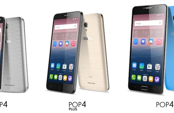Alcatel lanzó la Serie Pop 4