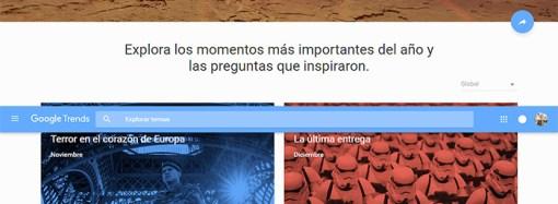 """Google presentó """"El año en búsquedas 2015"""" en Argentina"""