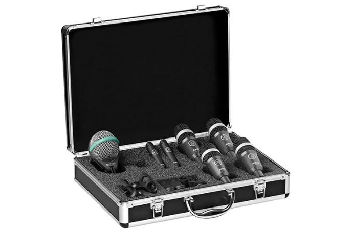 Se lanzó el nuevo set de micrófonos para batería Drum Set Concert I