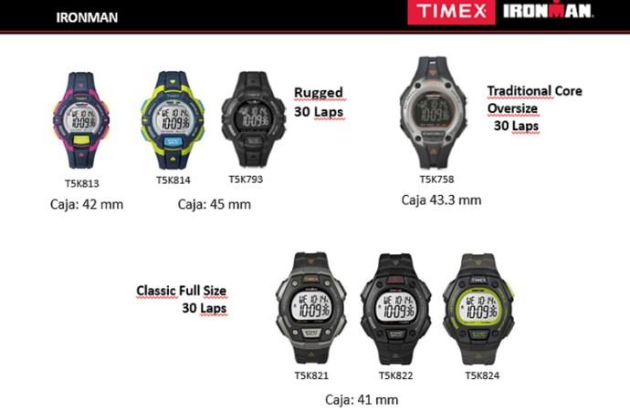 Timex celebra 30 años de los relojes Ironman