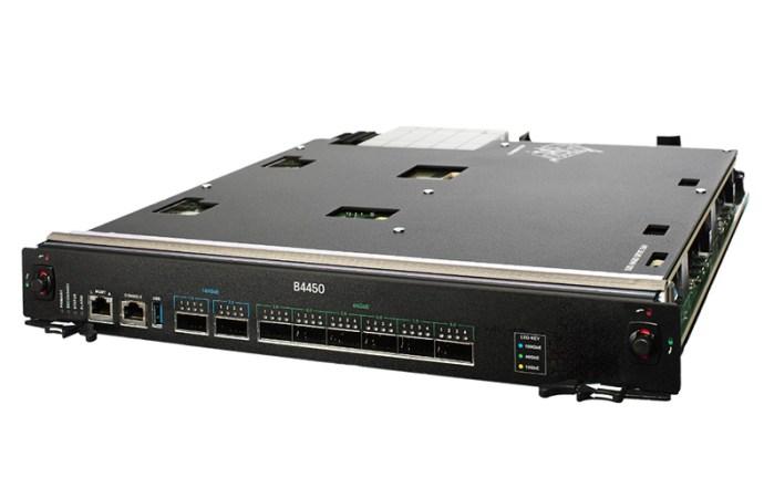 F5 presentó el nuevo blade VIPRION 100 GbE